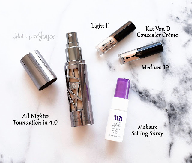 Urban Decay All Nighter Liquid Foundation 4.0 NC30 Review