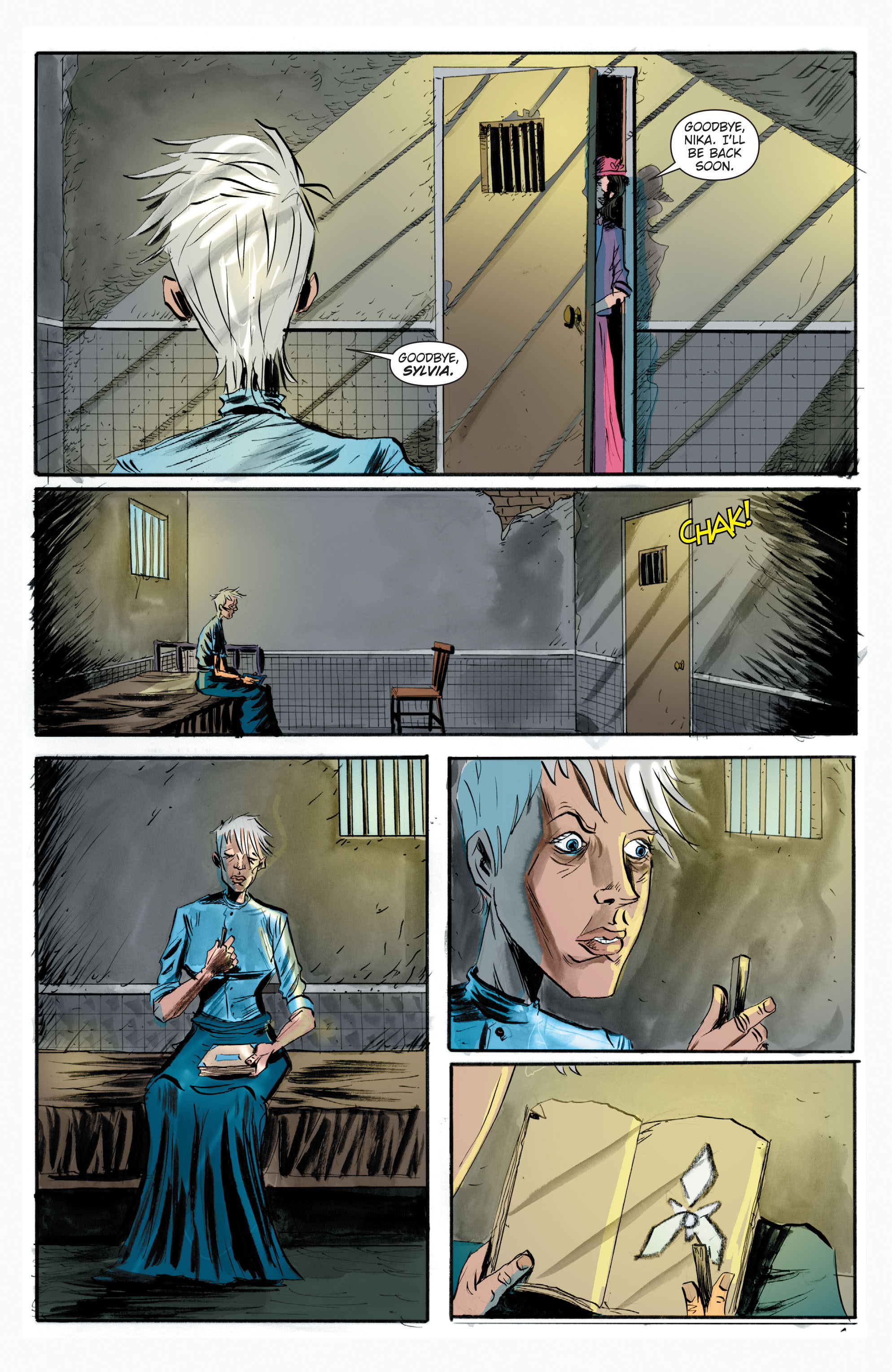 Read online Trillium comic -  Issue # TPB - 146