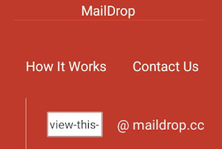 MailDrop- Free temporary Email, Disposable E-mail