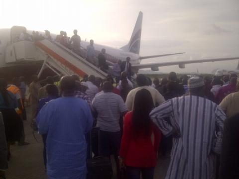 Angry passengers disrupt Arik's flights at Abuja airport