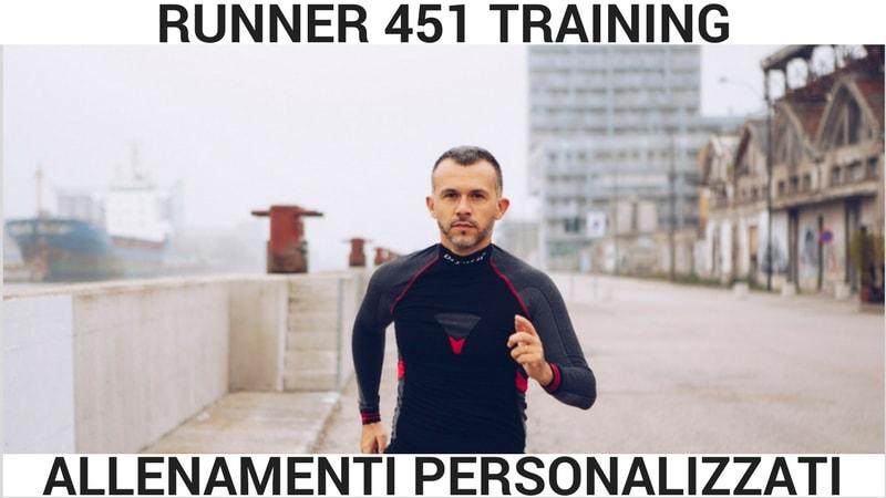 allenamenti personalizzati corsa