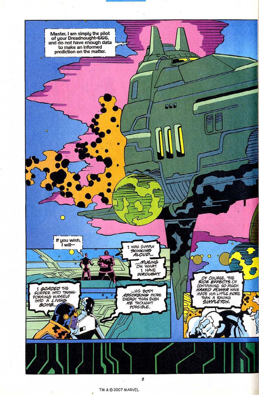 Read online Silver Surfer (1987) comic -  Issue #84 - 4
