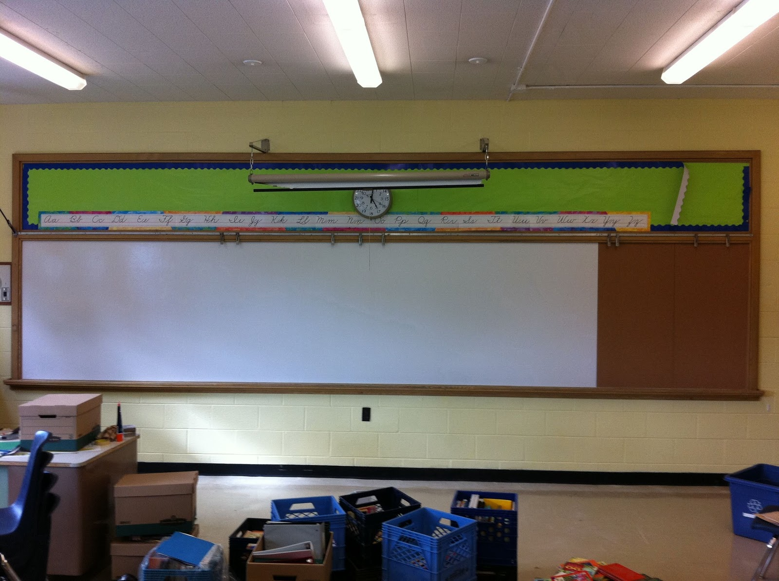 Classroom Whiteboard Decoration ~ A brave new classroom how to homemade whiteboard