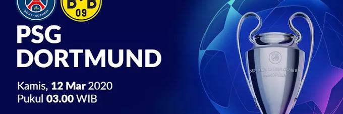 UCL 16 Besar: Paris Saint Germain vs Borussia Dortmund