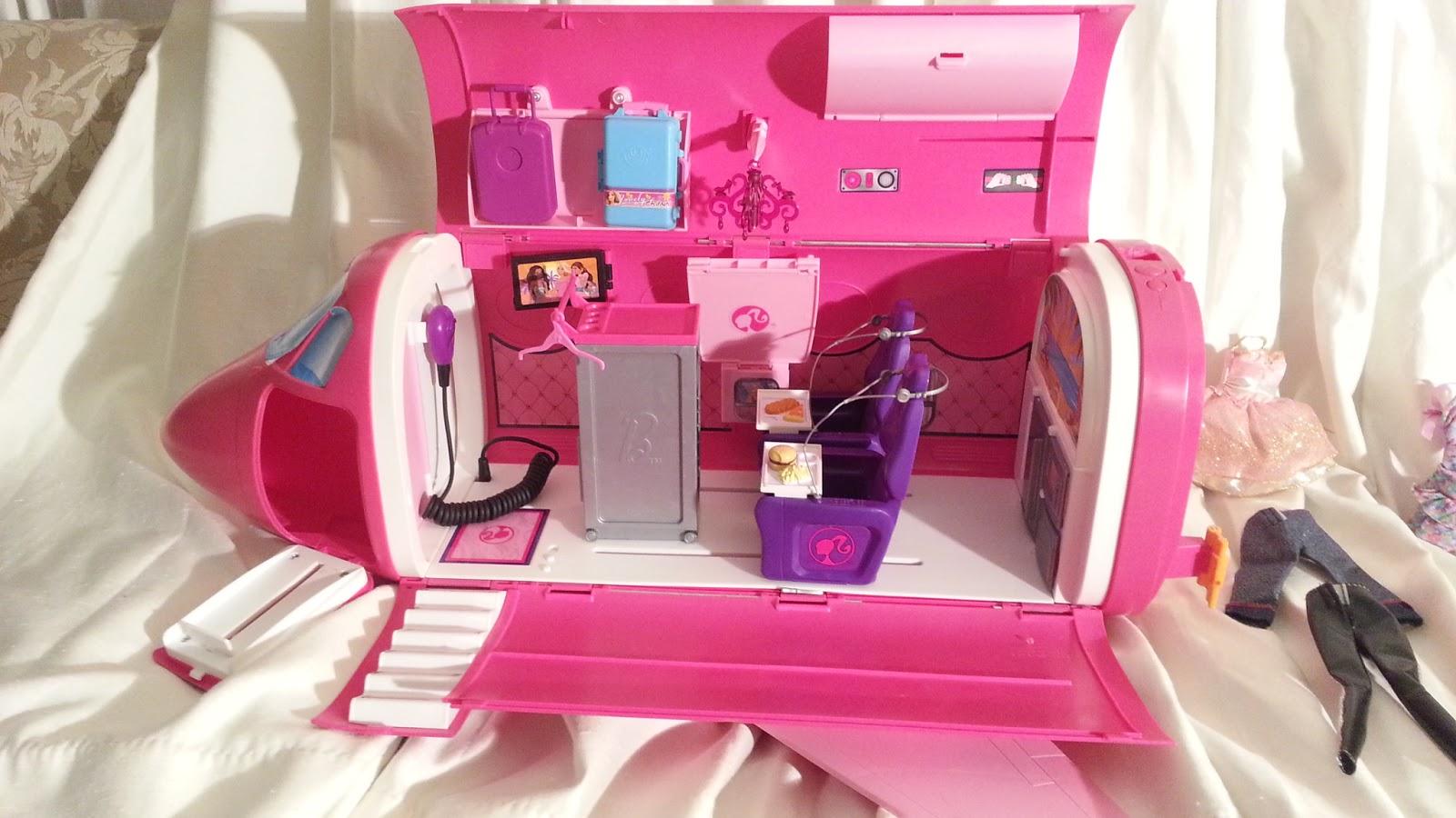 Barbie Glam Vacation Jet Airplane - $30 (OKC Craigslist Garage Sales)