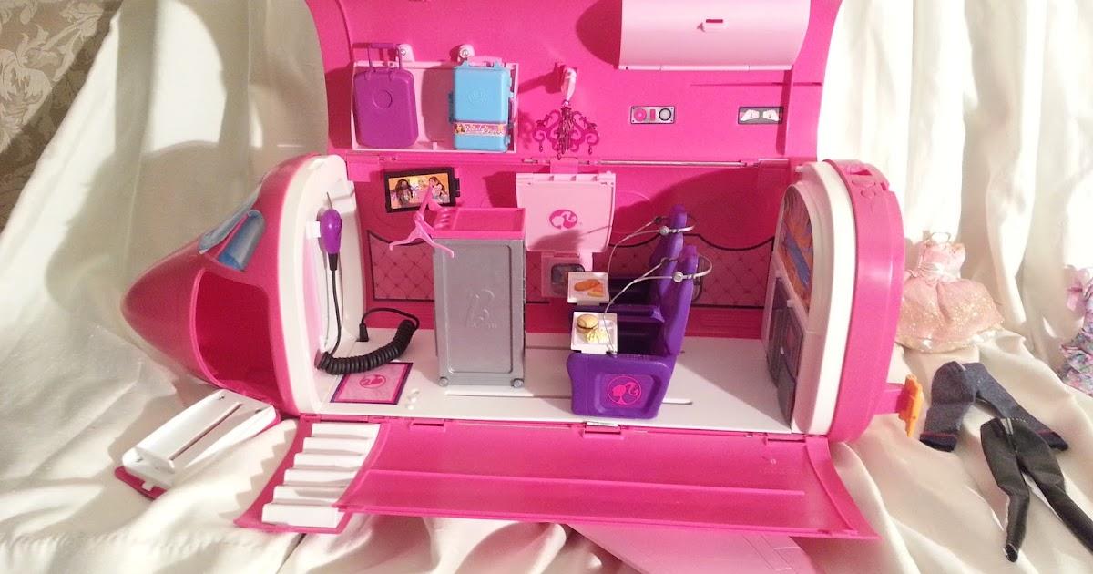 Barbie Glam Vacation Jet Airplane Okc 30 Okc
