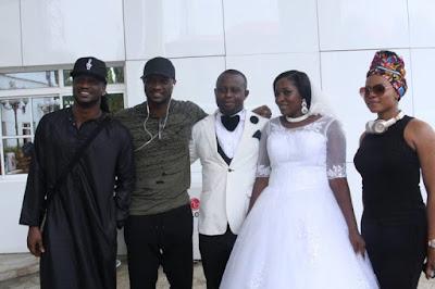 P-Square, Yemi Alade, Phyno Crash Couple's Wedding In Owerri