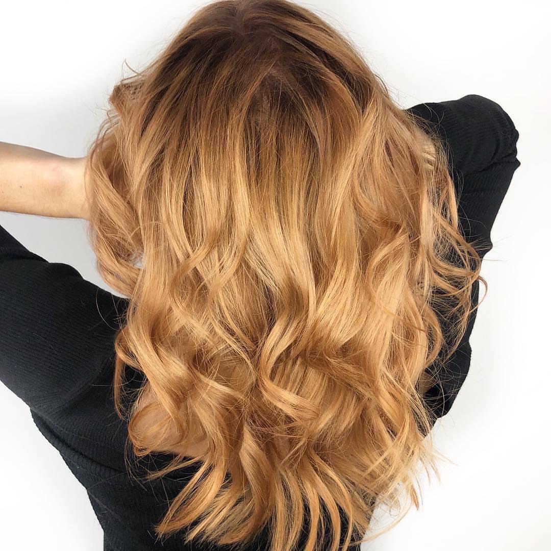 Krepe Balyaj Modelleri Yeni Trend Ombre Balyaj Saç Boyası 2019
