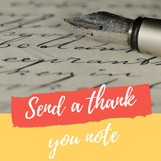 Send a thank you note