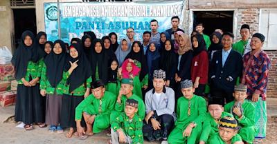 Kuliah Sambil Berbagi, Mahasiswa LP3I Lampung Salurkan Bantuan Ke Panti Asuhan