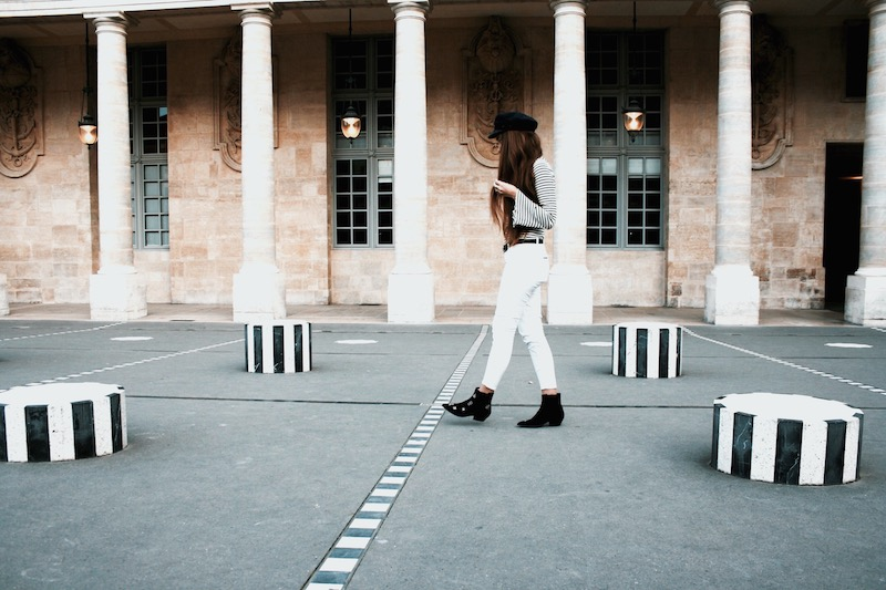 street style paris 2017 colonne buren blog mode arte