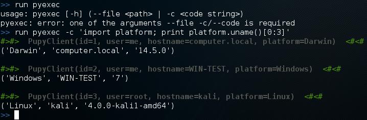 Python Keylogger Module