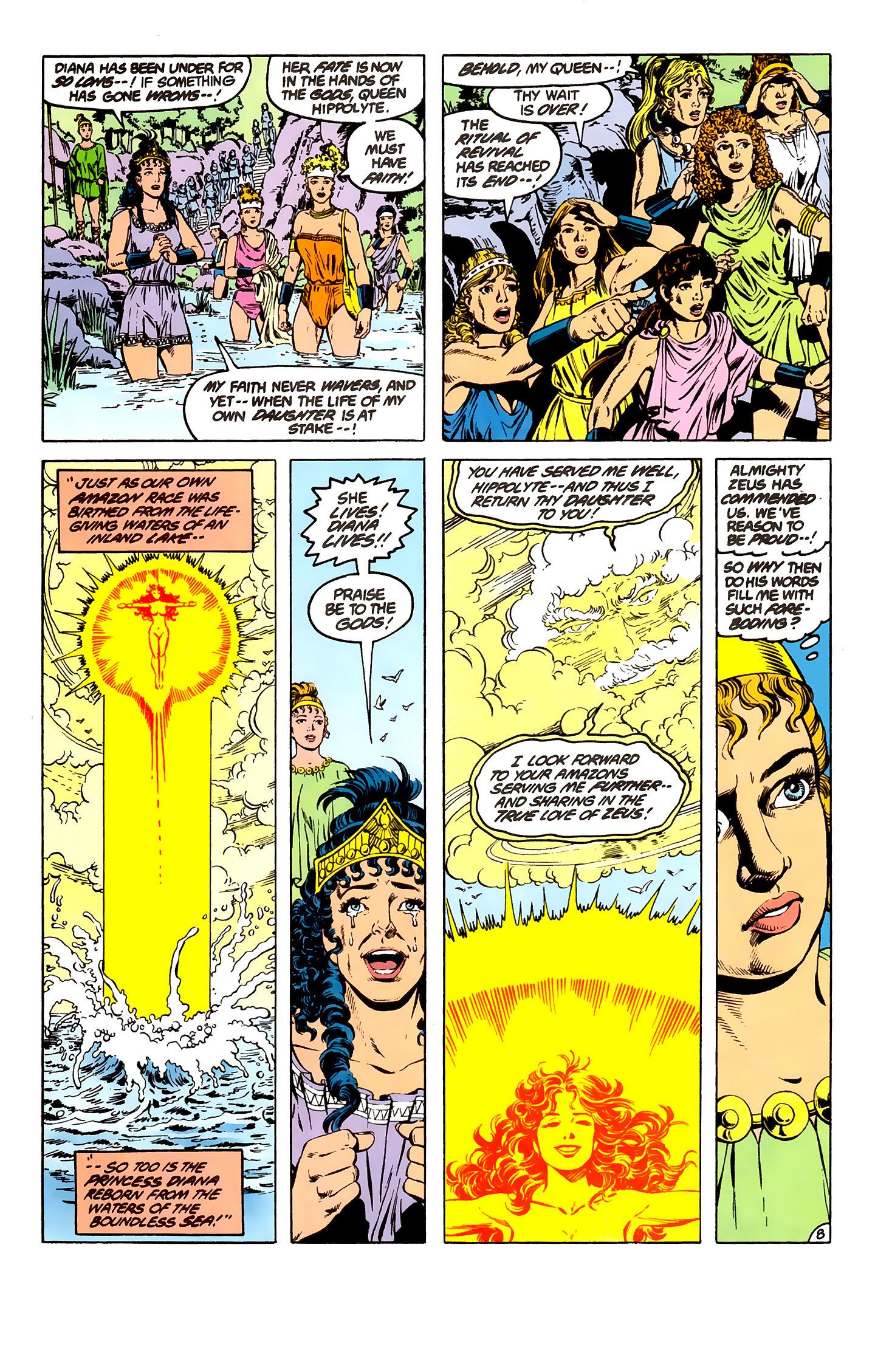 Read online Wonder Woman (1987) comic -  Issue #7 - 8