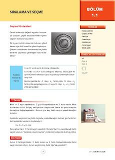 10. Sınıf Matematik Ders Kitabı Cevapları Aydın Yayınları Sayfa 3