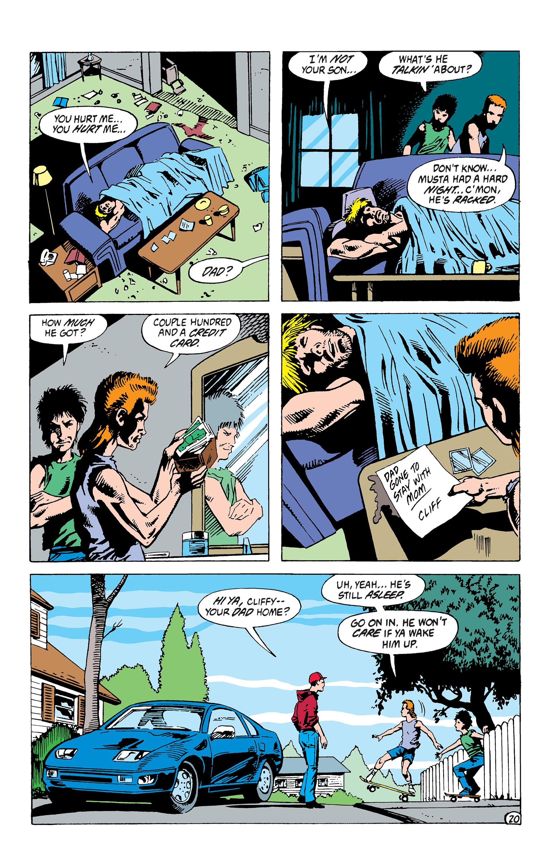 Read online Animal Man (1988) comic -  Issue #39 - 21