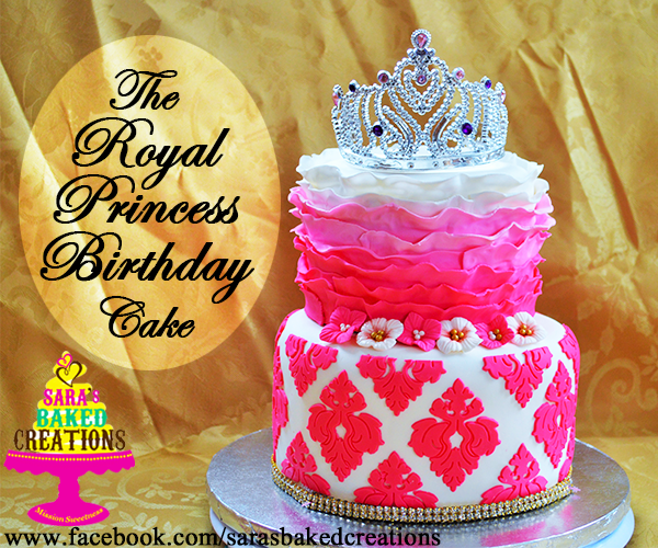 That Royal Princess Birthday Cake