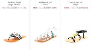 sandalias de piel planas 1
