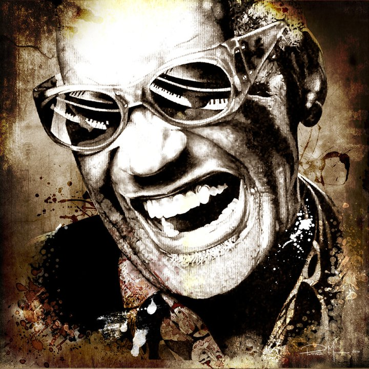 Ray Charles 1930-2004 | Patrice Murciano 1969 | French Pop Art and Mix Media painter