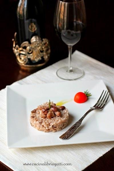 risotto coniglio olive taggiasche ricetta