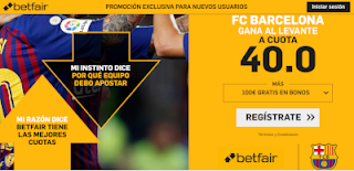 betfair supercuota Barcelona gana a Levante 10 enero 2019