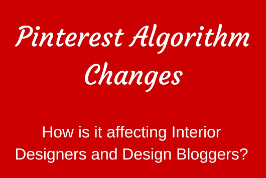 Design in the Woods: 2016 Pinterest Algorithm Changes - Are they affecting you?