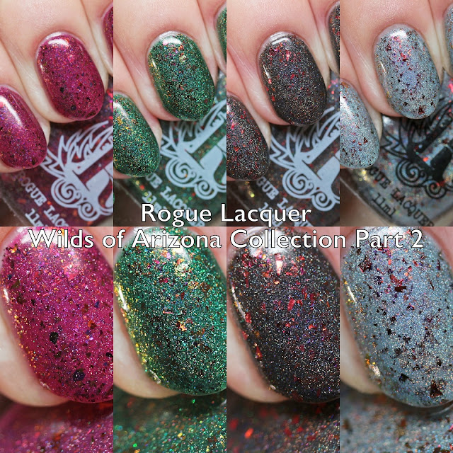 Rogue Lacquer Wilds of Arizona Collection Part 2