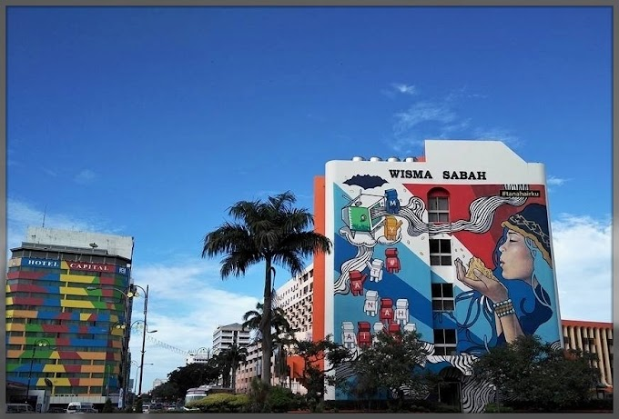 Happy World Tourism Day From Street Art Kota Kinabalu, Sabah
