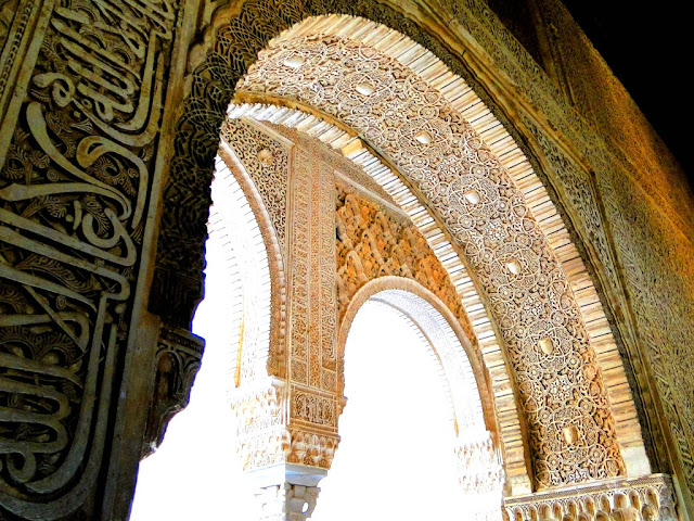 Artistic walls of La Alhambra