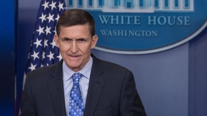 Obama 'warned Trump' about hiring Michael Flynn