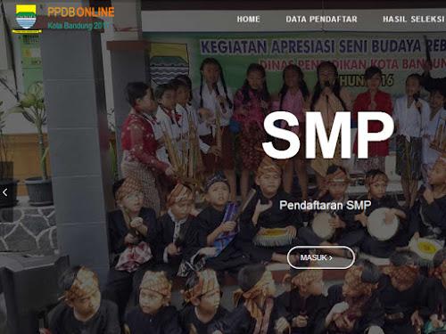 Evaluasi PPDB Kota Bandung 2017
