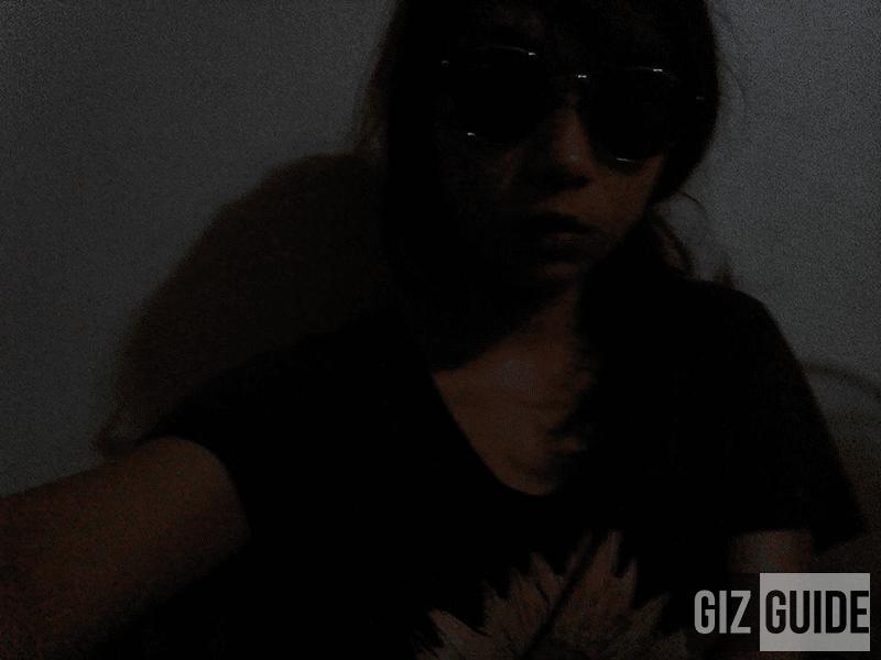Selfie dark