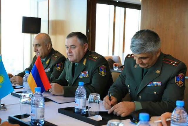 Armenia participa en simulacros Hermandad Irrompible 2018