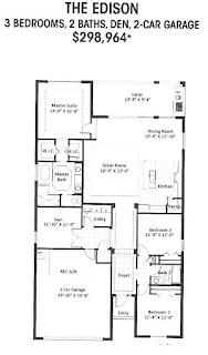 Edison floor plan Caribbean village Venice FL