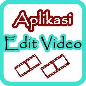 ilustrasi tulisan aplikasi edit video