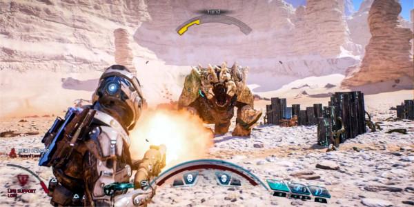 Mass Effect Andromeda Batalha