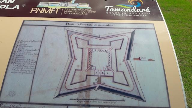Forte de Tamandaré,Praia dos Carneiros em Pernambuco