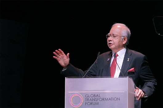 YAB PM'S SPEECH TRANSCRIPT AS DELIVERED IN GLOBAL TRANSFORMATION FORUM 22 MARCH 2017, KLCC