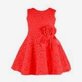 Amoin Kids Toddlers Girls Princess Party Flower Solid Lace Formal Dress
