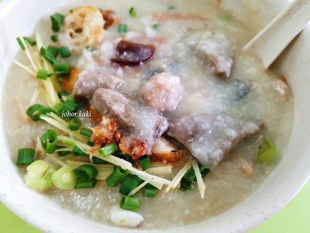 Weng Kiang Kee Porridge @ Singapore Chinatown Complex 荣强记粥品