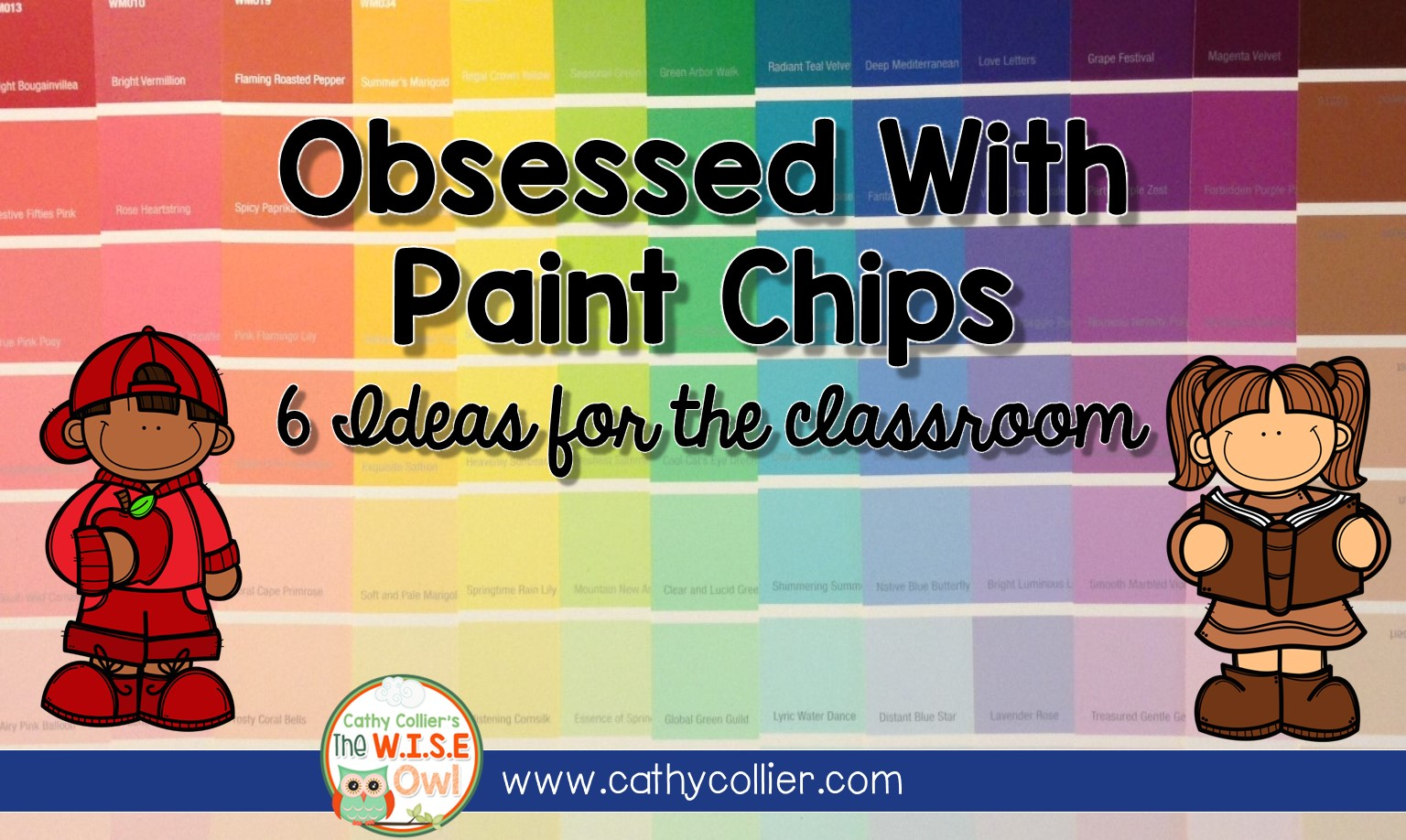 Obsessed With Paint Chips The W I S E Owl