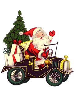 funny santa image