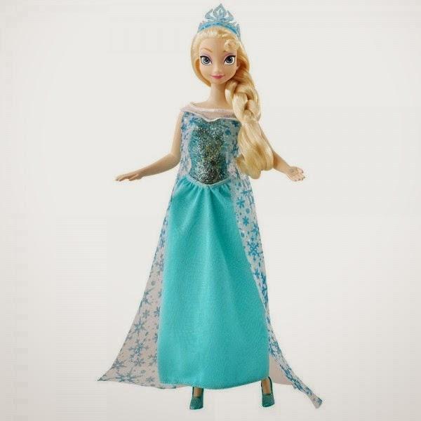 Gambar boneka elsa frozen cantik untuk anak