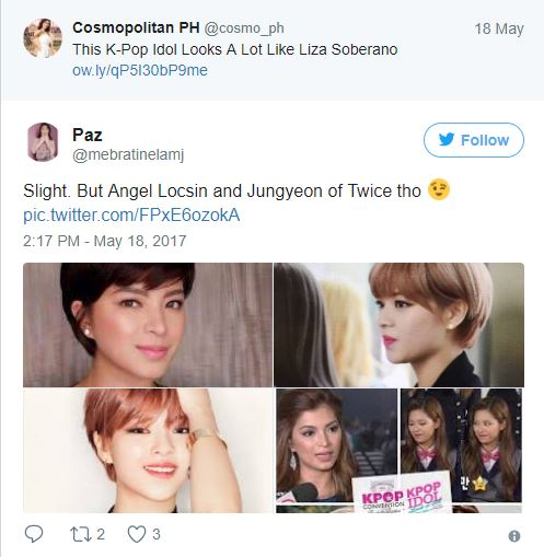 This K-Pop Superstar Was Said To Be Angel Locsin's 'Long Lost Sister'! Who This Korean Superstar Is Will Surprised You!