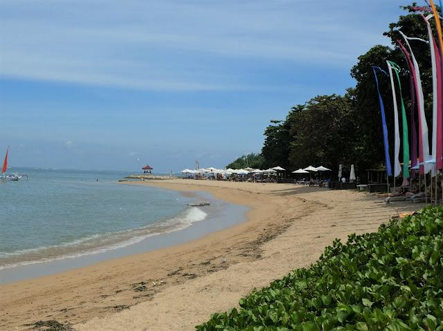 Bali - stranden i Sanur