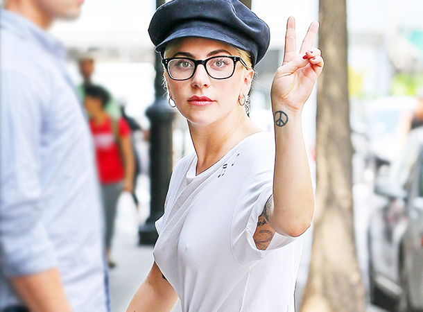 Lady Gaga Leaves Recording Studio in NYC (AUG 5)