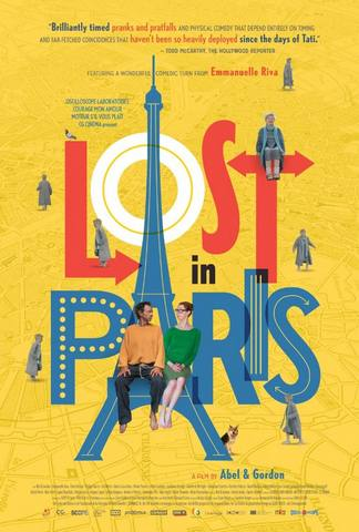 42a6ed350224 Lost in Paris (original title  Paris pieds nus) is a 2016 French-Belgian  comedy film written