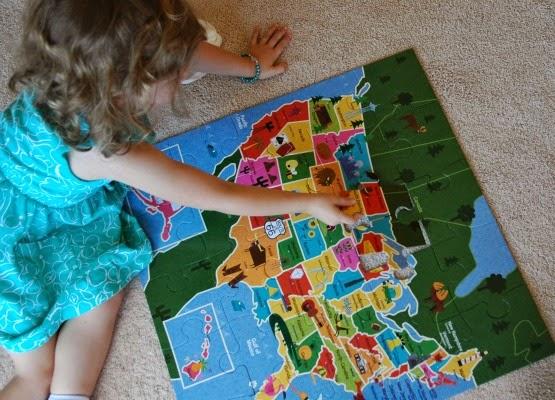 Teach your preschooler to identify states