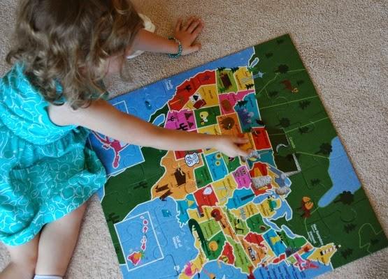 Teach your preschooler to identify states