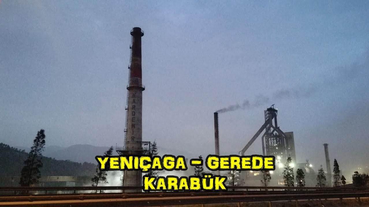 2018/10/18 Karadeniz'in batısı Marmara'nın doğusu (Yeniçağa - Gerede - Eskipazar - Karabük)