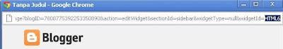 Cara Menyembunyikan Widget Di halaman  Homepage